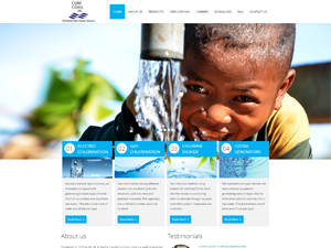 CMS Web Design Websites Designed for Water Purifications