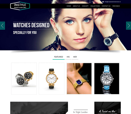 Web Development Companies for Luxury Watches
