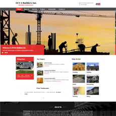 Website Designing for Civil Engineering